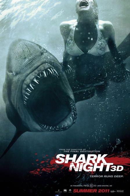 鲨鱼惊魂夜 Shark Night 3D