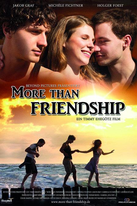 友谊手绘海报背景图片