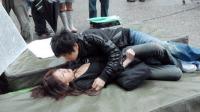杭州女孩遭抢劫 大喊带我走吧我失恋了