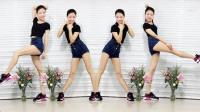 长腿美女大秀搏击健身操