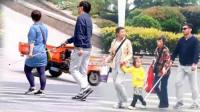 社会实验体验盲人过马路的处境