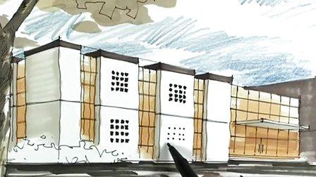 陈马带总导师-建筑手绘9-广州疯狂手绘培训视频教程