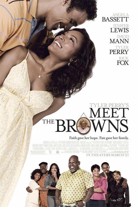 拜见布朗一家海报