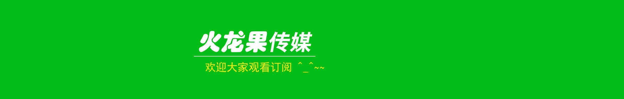 火龙果传媒工作室 banner