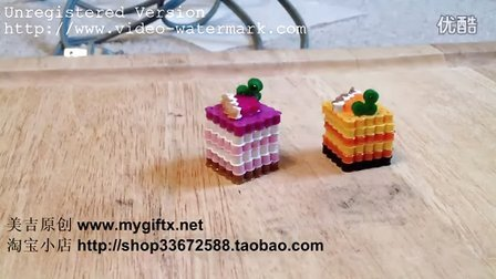 美吉原创-拼拼豆豆(perler beads)玩法教程