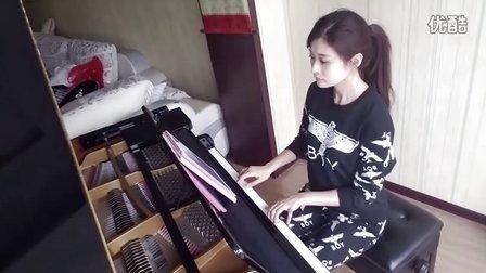 王源 因为遇见你 钢琴演奏