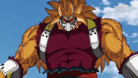 超龙珠英雄: 堪巴变身猩猩王, 一招破掉贝吉特合体