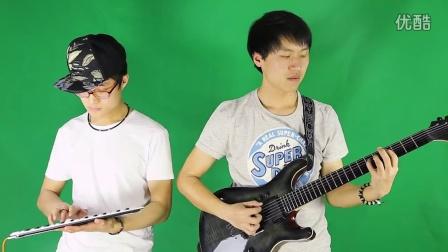 《动物世界》片头曲  键盘&吉他【小贝演奏】