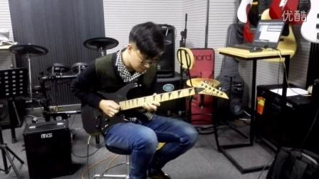 电吉他练习曲演奏视频