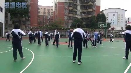 《籃球雙手胸前傳接球》教學課例(八年級體育,羅湖中學: 向陽)