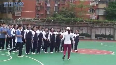 《籃球-雙手胸前傳接球》教學課例(九年級體育,翠園中學:趙麗娟)