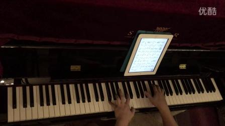 《陪你度过漫长岁月》主题曲   钢琴曲 琴键狂舞