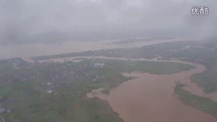 航拍浦市洪流-多多影视文化传媒