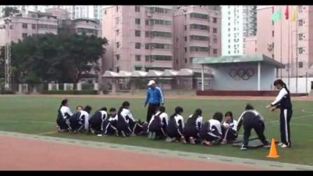 《彎道跑技術》教學課例(九年級體育,東湖中學:李顯軍)