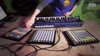 Novation  Live beats with UltraNova and Launchpad