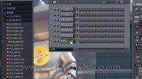 FL Studio 9 基础视频教程之:004,打开音频素材到步进音序器