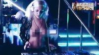 实拍:女DJ真空上装半裸打碟 劲爆热舞