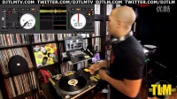 How to play a live DJ set with one turntable[89dj]