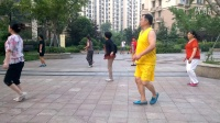 临沂锦绣蓝山广场自由舞  dj串烧 4k