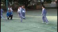 小學體育《跳繩訓練課(長繩8字跳)》微課視頻,深圳第一屆微課大賽視頻