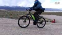昆博獨角獸助力山地車極速檔上35度陡坡測試視頻